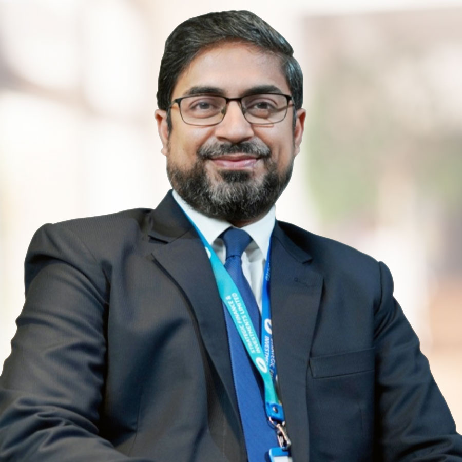 Mr. Irteza A. Khan, MD & CEO